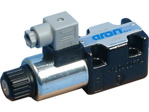 24vdc Single Solenoid Valve - Spool Type 16 - AD3E16EM