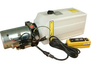 Tipper Power Pack 24vdc complete with Pendant Controller - FN8204