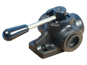 Diverter Valves - 1 inch bsp diverter valve - 3 way
